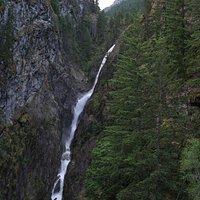 Gorge Falls from bridge