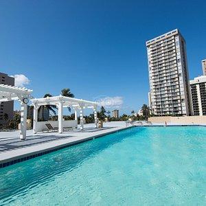The Pool at the Hawaiian Monarch Hotel