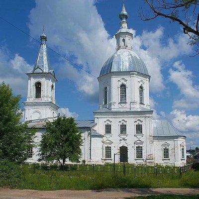 Троицкая церковь в Аламасово Нижегородской области