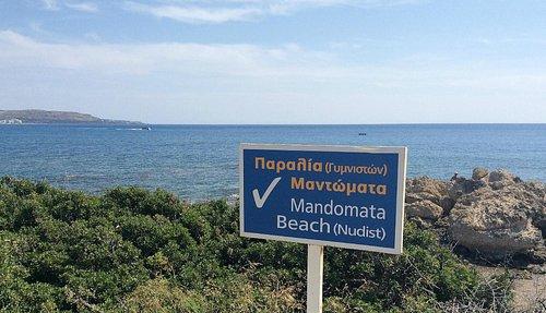 Mandmata Nudist Beach, Rhodes