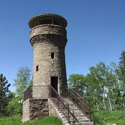 Friendship Tower on Mt. Roosevelt near Deadwood, SD