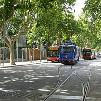 This Cable Car (Tram) or Bus Up to Tibidabo