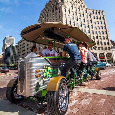 Pickled Pedaler on the Circle