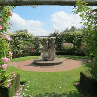 An Arbour full of climbing Roses