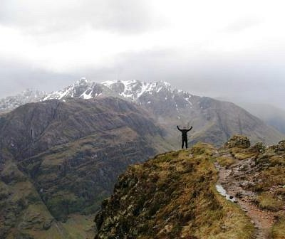 Glen Coe and the Anoach Eagach Ridge