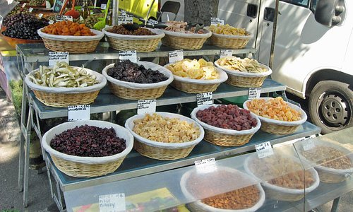 Dried Fruit at Arles Market