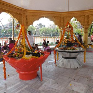Inside view of temple.