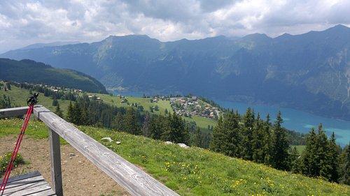 View from Restaurant Hilten