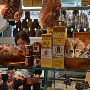 Some of the lovely deli fare on the Soho Tour