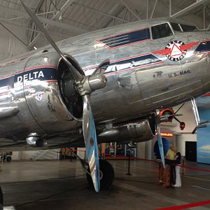 One of the restored planes.
