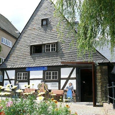 Eingang zum ZInnfiguren-Museum Goslar