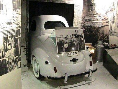 Auto usata al trasporto di armi