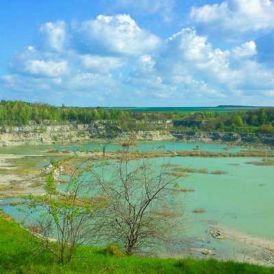 Skala-Podilska: Limestone Quarry