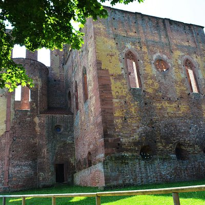 Ruine Eingangsbereich