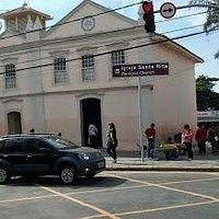 Fachada Igreja Santa Rita