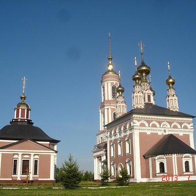 Mihaila Arhangela church in Suzdal, Russia