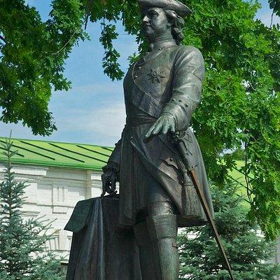 Poltava: Peter I Monument