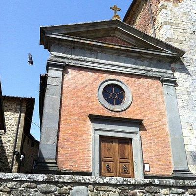 Cappella settecentesca della Chiesa di San Pietro di Badia a Ruoti