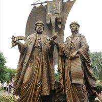 скульптура Пётр и Феврония
