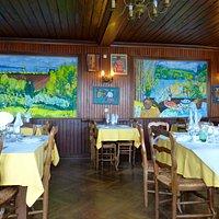 Hôtel du Pouldu : La salle du restaurant
