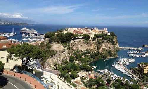 Шикарный вид на Монако