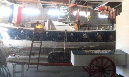 De reddingsboot Abraham Fock
