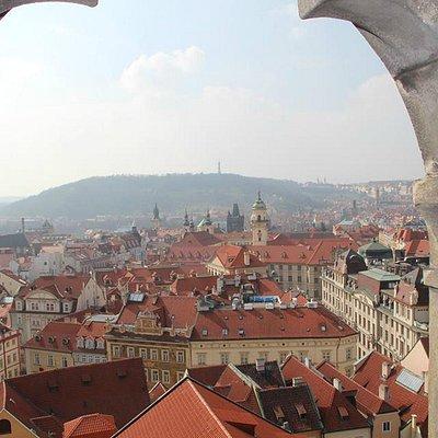 Panorámica desde lo alto de la torre del viejo ayuntamiento