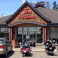Driving from Ottawa we said we would stop at the first Tim Hortons...turns out it's 5mins outsid