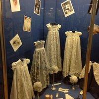 Fine lace garments.