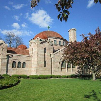 """The """"Hagia Sophia"""" chapel exterior"""