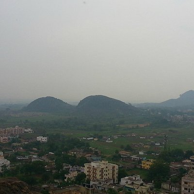 View of the city from Tagore Hill