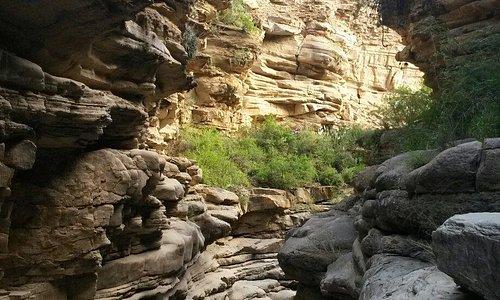 Cañon de Icla un lugar impresionante para visitar y caminar con formaciones rocosas milenaria, d