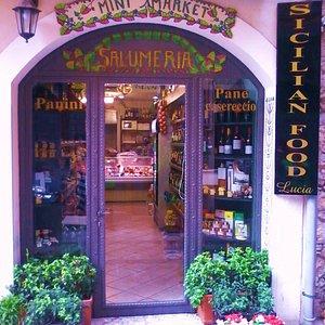 Sicilian Food Lucia Taormina