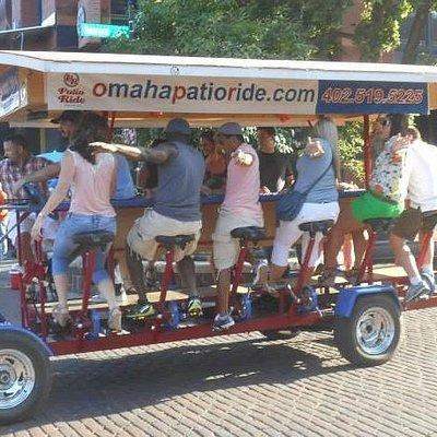 Omaha Patio Ride in Old Market