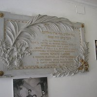 Names of Jewish soldiers whose served in Italian Army and died in the war...