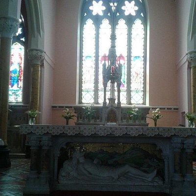 Altar of St Colman's Church