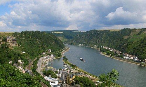 Above Sankt Goar