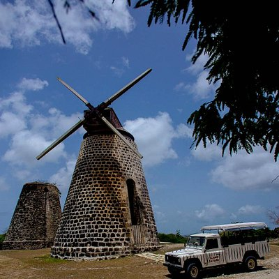 Stop at Betty's Hope (Sugar Plantation) and many other cultural sites while on our tours.