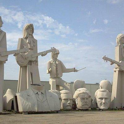 Beatles Statues at Sculptureworx