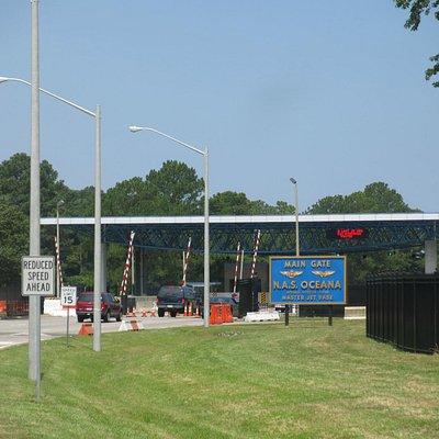 Main Gate - Oceana Naval Air Station