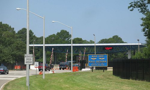 Main Gate - Oceana Naval Air Station