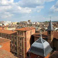 The pink city of Toulouse