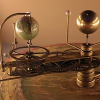 An orrery in the Cabinet of Curiosities