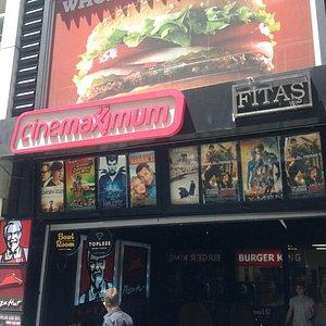 The Cinema main entrance