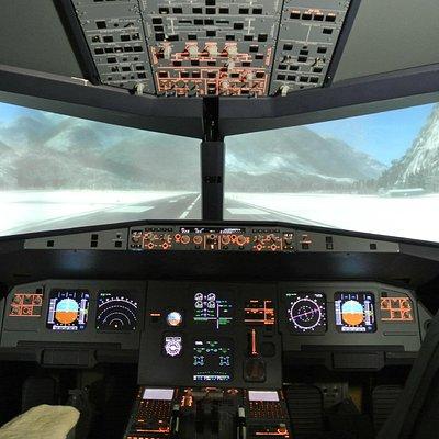 Airbus A 320 flight simulator