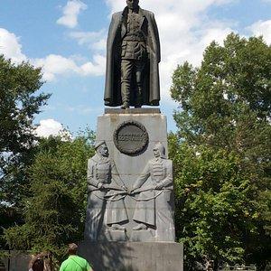 Памятник Александру Колчаку