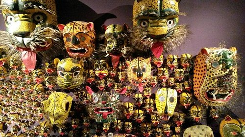 Mexican Masks from the collection of François Reichenbach
