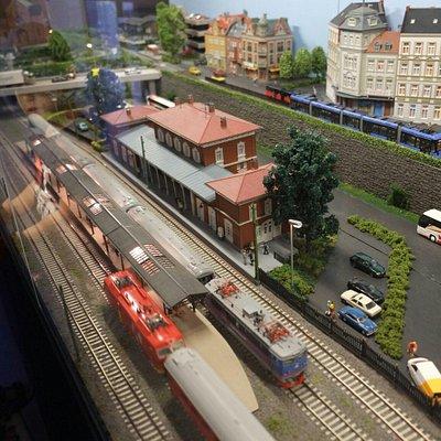 Jättekul att man kan köra vissa av tågen!