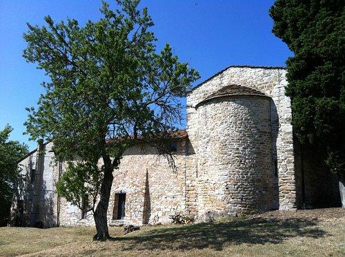 Abside di San Piero in Perticaia a Rignano sull'Arno