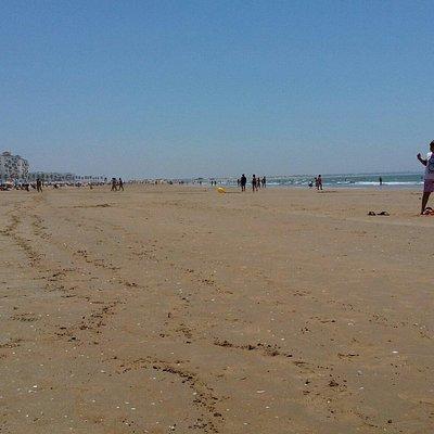 Nice,big and clean beach